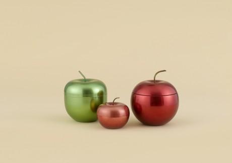 りんごのキャニスター