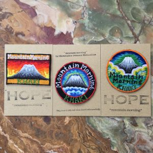 Patch by MOUNTAIN MORNING×MASAKATSU SHIMODA ¥700 each