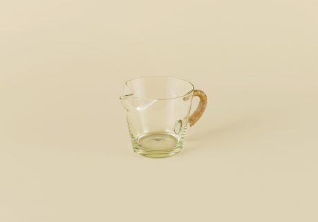 アメリカ製のガラスのピッチャー