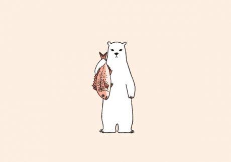 白くまのナヌークのつぶやき。「食べること」