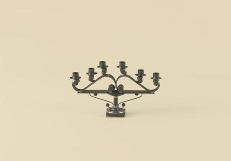 メキシコのブリキ細工の燭台選・文/郷古隆洋