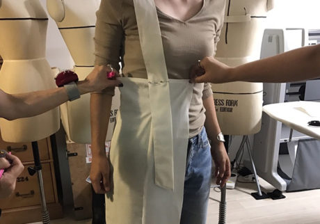 服を作るということ、着るということ 濱中鮎子