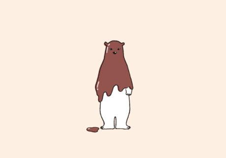白くまのナヌークのつぶやき。「チョコレートのこと」