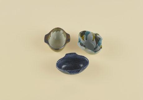 岩井窯の耳付楕円小鉢選・文/郷古隆洋