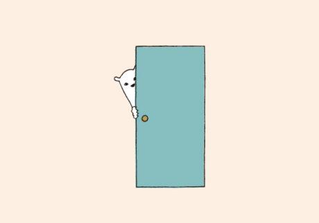白くまのナヌークのつぶやき。「ドアのこと」