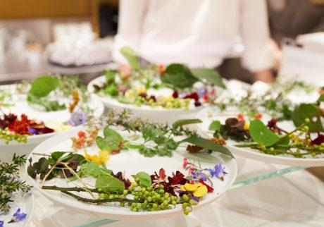 本誌コラボイベント「エディブルフラワーを知る、味わう」開催。花と暮らす、井上隆太郎さんの話。