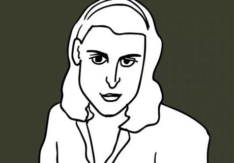 河内タカの素顔の芸術家たち。ヘレン・フランケンサーラー