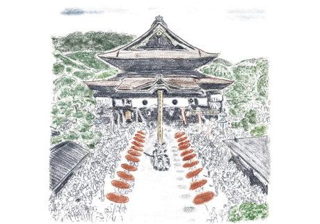 16人の「私の好きな神社、お寺」。野川かさね