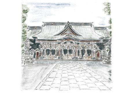 16人の「私の好きな神社、お寺」。内田彩仍