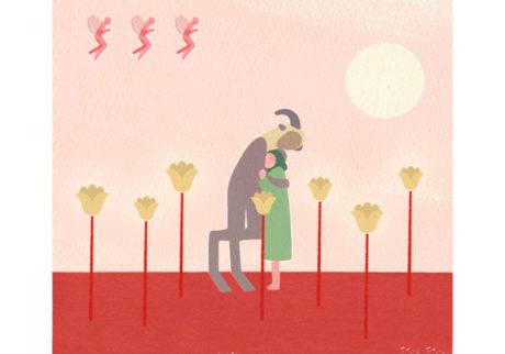 今日1日を、このイラストと。奥澤ミホ vol.13