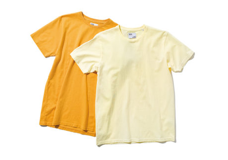 デンマーク生まれの〈カラフルスタンダード〉で見つけたオーガニックコットンTシャツ。