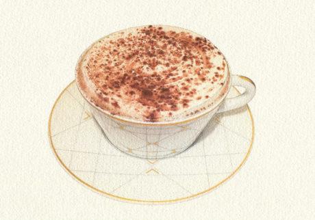 チョコレートは飲み物です。カフェ ディオール バイ ピエール・エルメ