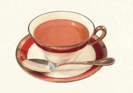 チョコレートは飲み物です。
