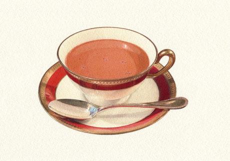 チョコレートは飲み物です。蕪木