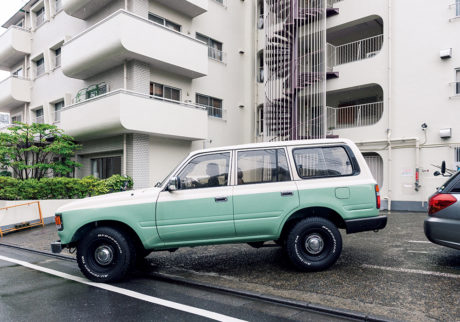 私とクルマ。 MARCO × TOYOTA LAND CRUISER 80
