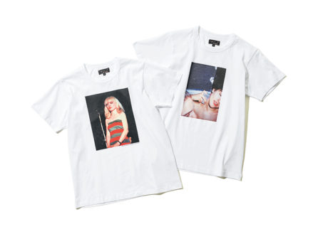 写真展に紐づいた〈アニエス ベー〉のプリントTシャツ。
