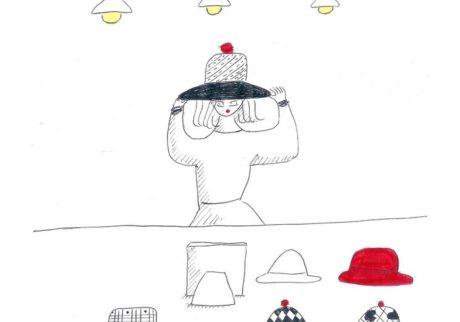 今日1日を、このイラストと。庄野紘子 vol.10