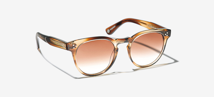 GARRETT LEIGHT sunglasses with color lenses