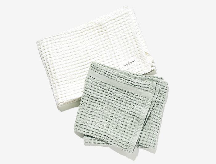 THE ORGANIC COMPANY big waffle towel