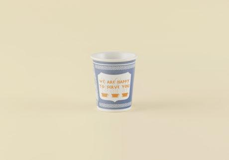 骨董王子・郷古隆洋の日用品案内。アメリカのニューヨークコーヒーカップ