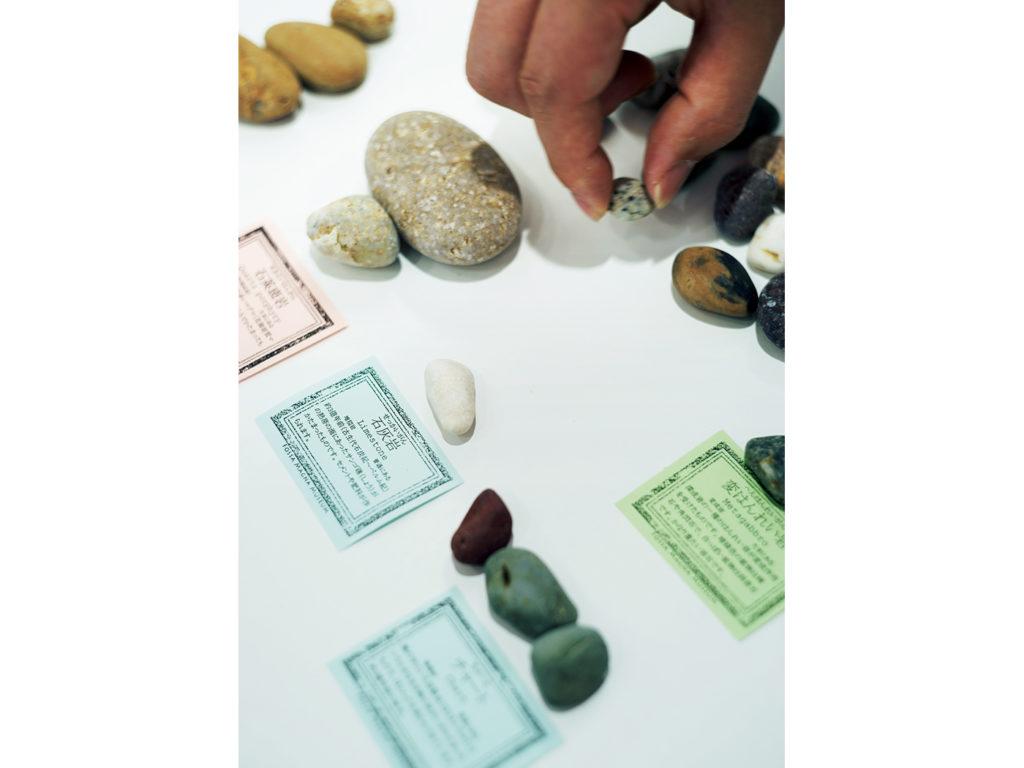 フォッサマグナミュージアムの学芸員が石の種類を鑑定。鑑定サービスは曜日・時間が限られているため注意。