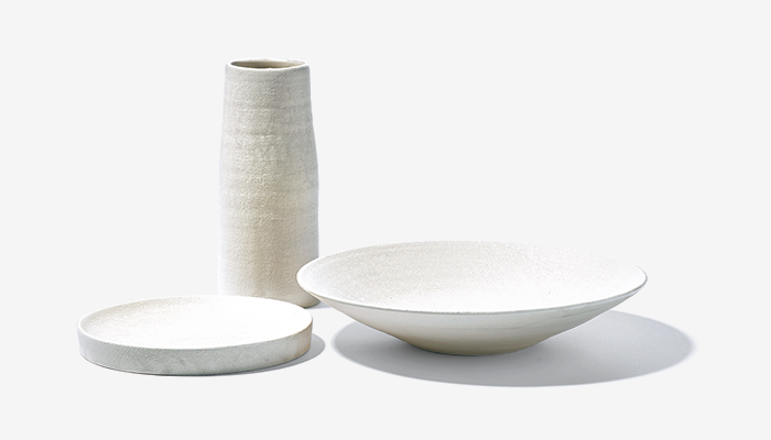 SUEKI CERAMICS new white ceramics
