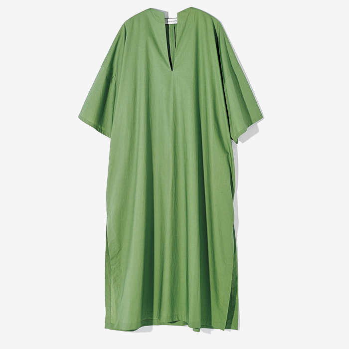 SHAINA MOTE fresh green dress