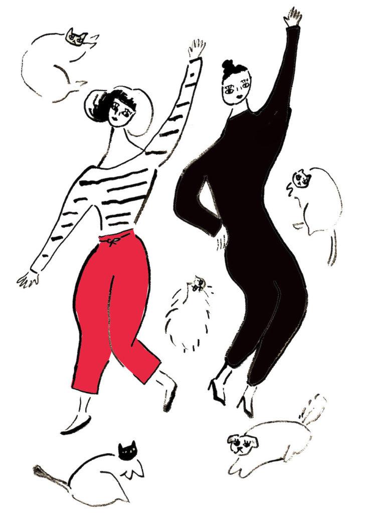 06週末はネコとダンス