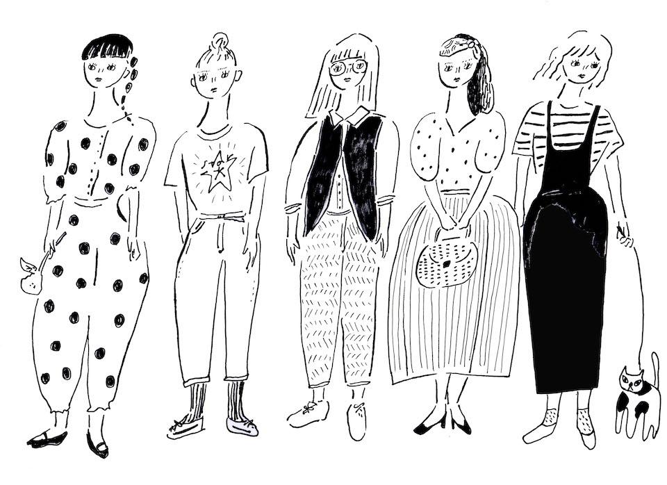 08私たちは洋服が好き