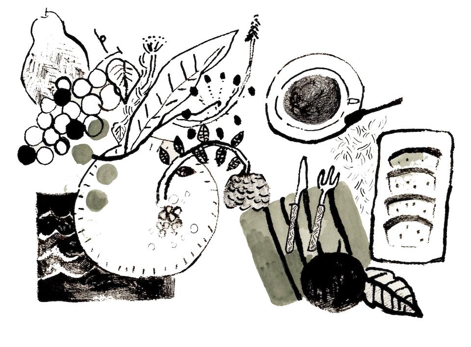 16朝のテーブル