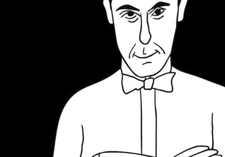 河内タカの素顔の芸術家たち。テオ・ファン・ドゥースブルフ