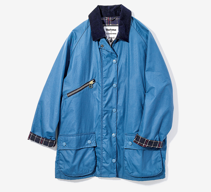 BARBOUR BY ALEXACHUNG classic jacket for girls