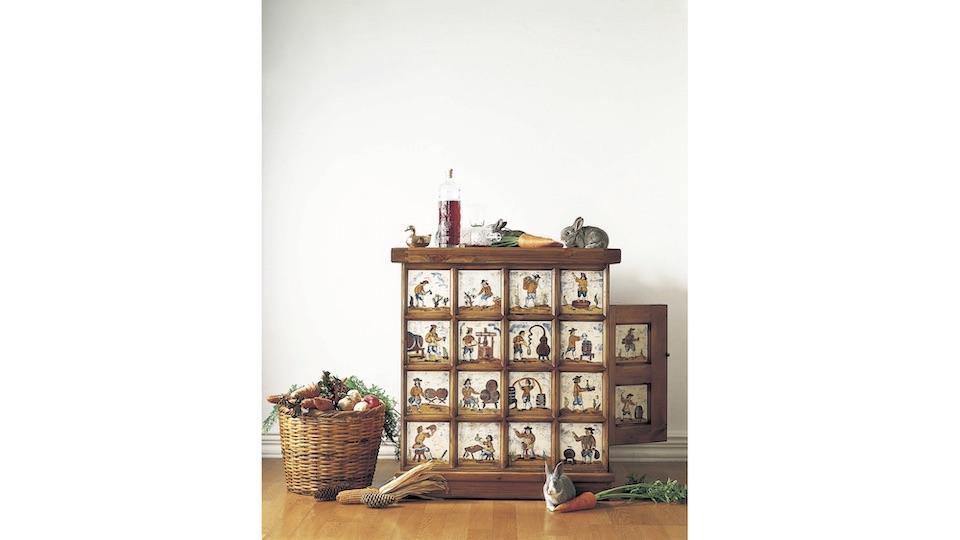 80年代に当時のアクタス のベストセラーとなったスペイン・バレンシア地方の家具「MADES」。