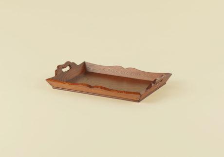 骨董王子・郷古隆洋の日用品案内。鳥取県の運び盆