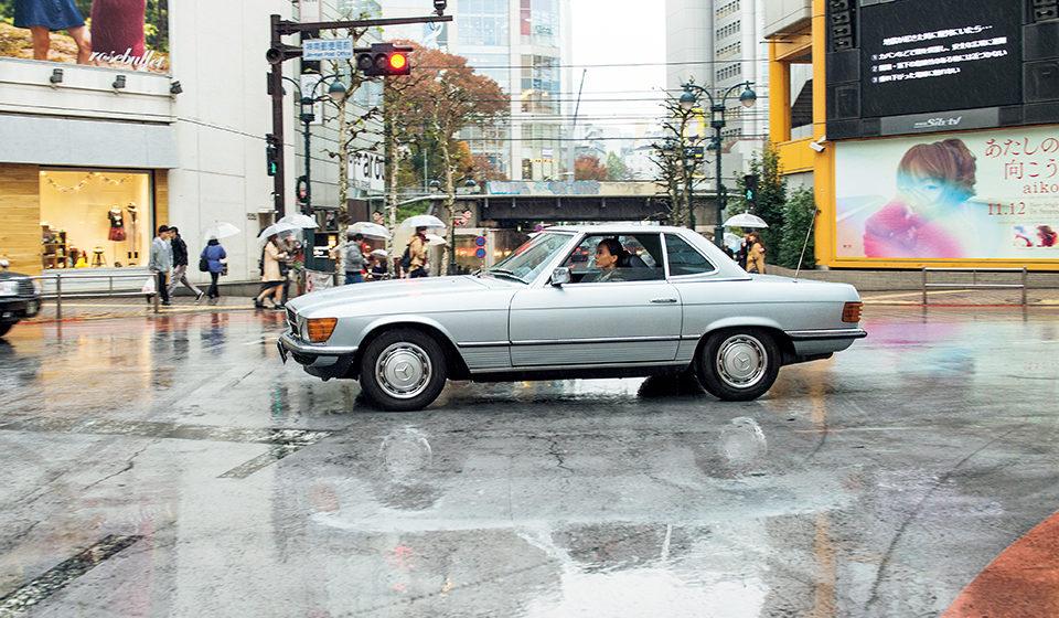 私とクルマ。 SAYAKA SHIBUKI × MERCEDES-BENZ SL500