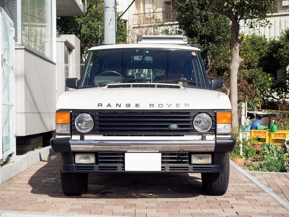 MAYUMI SUZUKI × RANGE ROVER CLASSIC  Vanden Plas