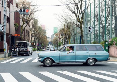 私とクルマ。 YUUKA AKAISHI × Chevrolet Nova Wagon