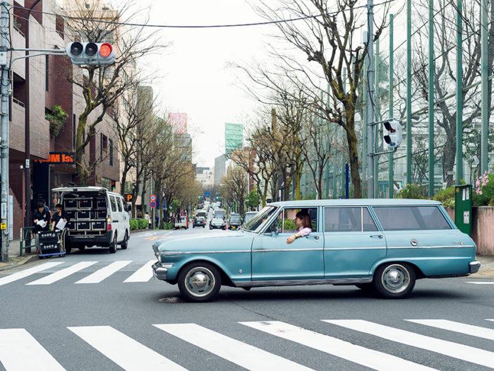 YUUKA AKAISHI × Chevrolet Nova Wagon