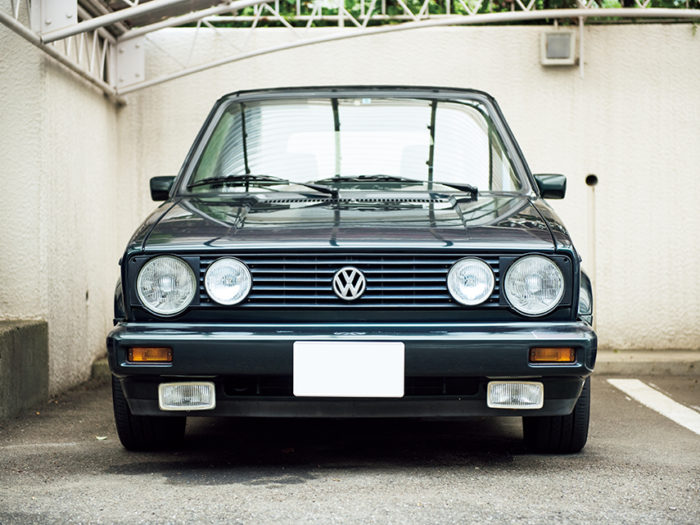 CHIKA MIYATA × Volkswagen Golf Cabriolet