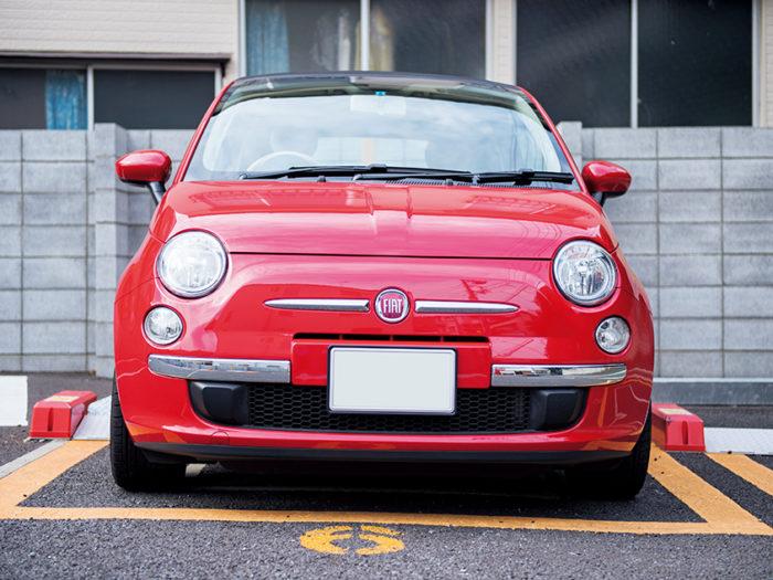 RIE NAGAKAWA × FIAT 500C