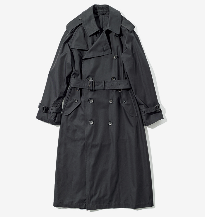 LENO big size trench coat