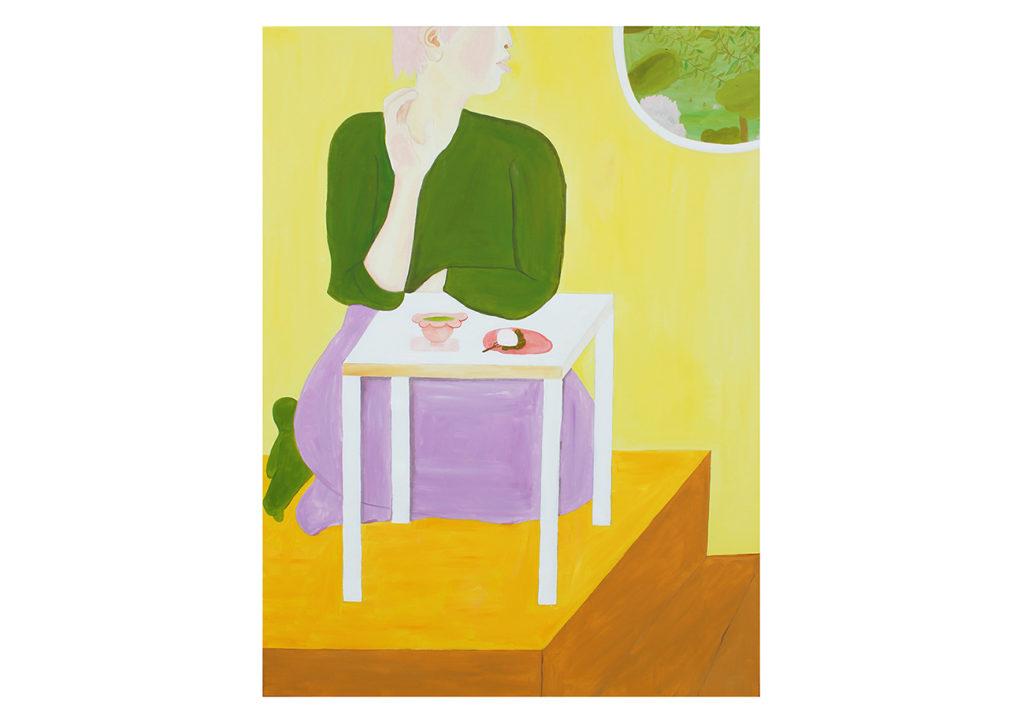 ジョアンナ・タガダによる油彩画。