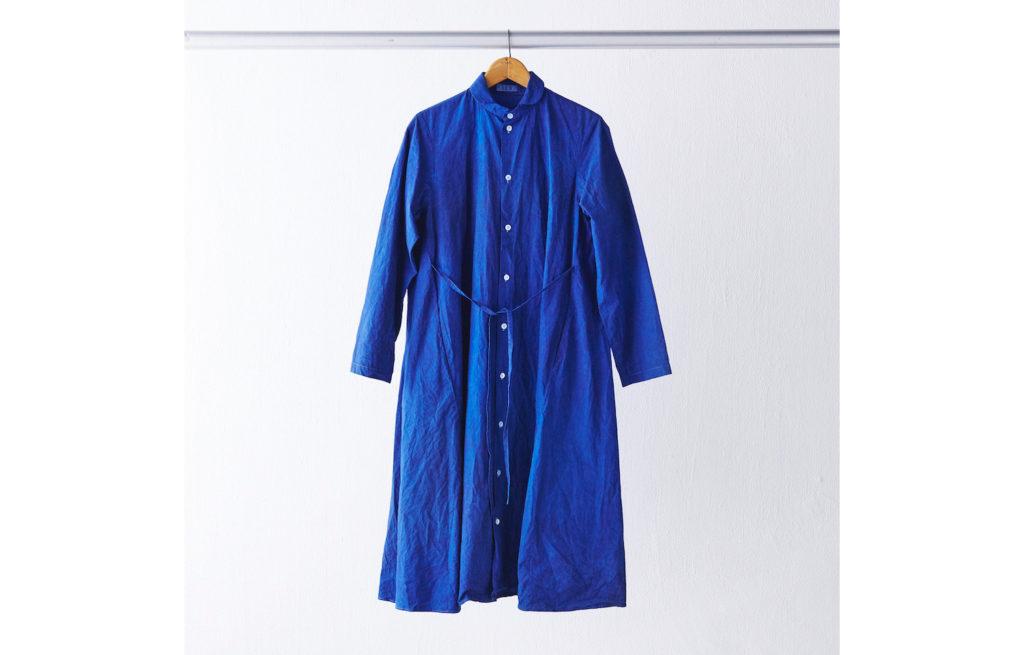シャツドレス ¥29,500 (ヌーイ)
