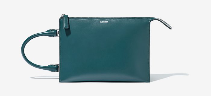 JIL SANDER  one handle tote bag