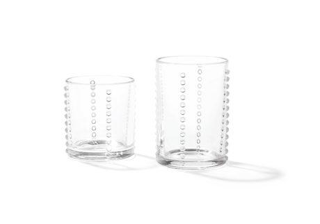 柳宗理のドローイングを基に製作した〈スミダコンテンポラリー〉のグラス。