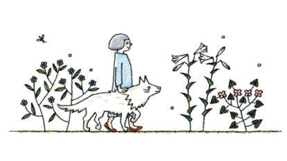 小林マナさんと鹿児島睦さんによる、 老犬との暮らしを伝える展覧会 …