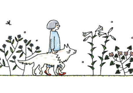 小林マナさんと鹿児島睦さんによる、 老犬との暮らしを伝える展覧会を開催。