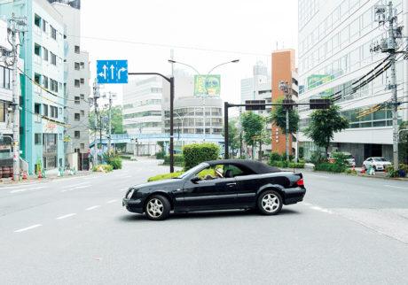 私とクルマ。 YOKO KURATA × MERCEDES-BENZ CLK320 Cabriolet