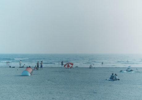 由比ヶ浜 より 真夏の時間
