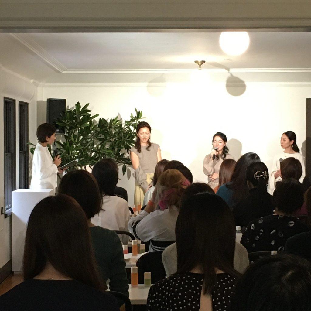 久保さん、永冨さんによるトークセッション。